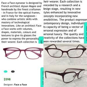 """61e5d6b6d64 Face To Face Accessories - Face to Face eyeglasses frames """"Vicky 3"""""""